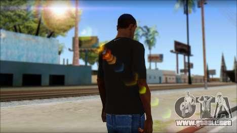 Kobie Shirt para GTA San Andreas segunda pantalla
