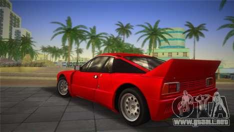 Lancia Rally 037 1982 para GTA Vice City left
