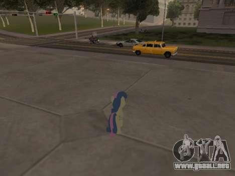 Bonbon para GTA San Andreas quinta pantalla