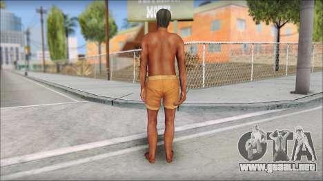 Beach Character 4 para GTA San Andreas tercera pantalla