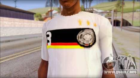 A.Friedrich Trikot T-Shirt para GTA San Andreas tercera pantalla
