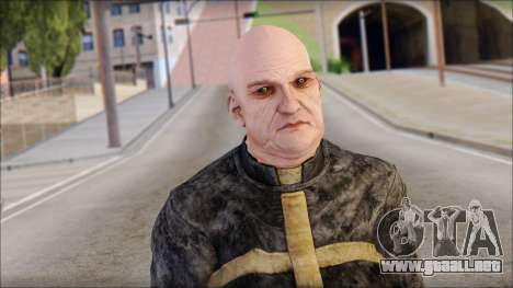 Father Martrin From Outlast para GTA San Andreas tercera pantalla
