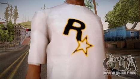 Rockstar Games Shirt para GTA San Andreas tercera pantalla
