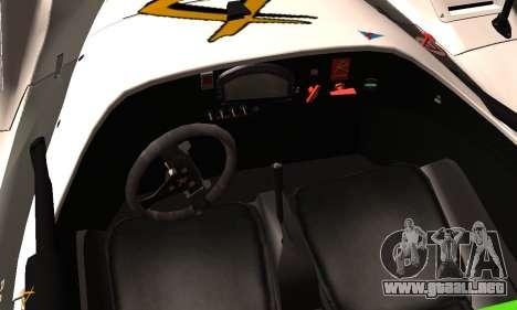 Radical SR8 Supersport 2010 para la visión correcta GTA San Andreas