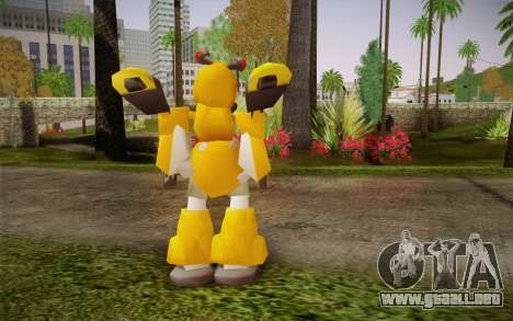 Metabee para GTA San Andreas segunda pantalla