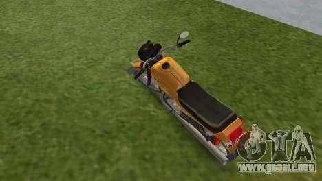 Jawa 638 para GTA Vice City vista lateral izquierdo