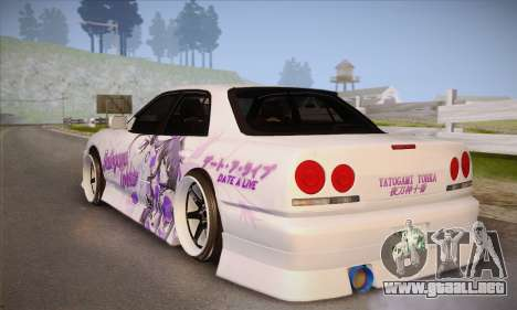 Nissan Skyline ER34 Itasha para GTA San Andreas left