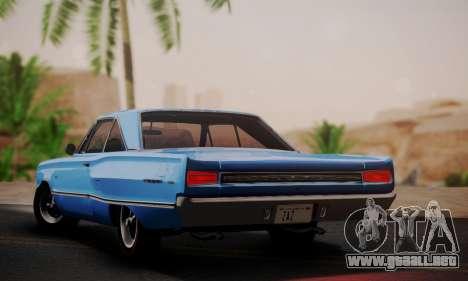 Dodge Coronet 440 Hardtop Coupe (WH23) 1967 para GTA San Andreas left
