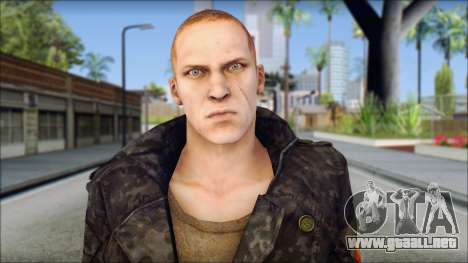 Jake Muller from Resident Evil 6 v2 para GTA San Andreas tercera pantalla