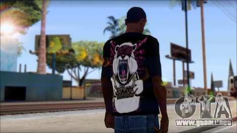 Eskimo Callboy Eisbaer T-Shirt para GTA San Andreas segunda pantalla