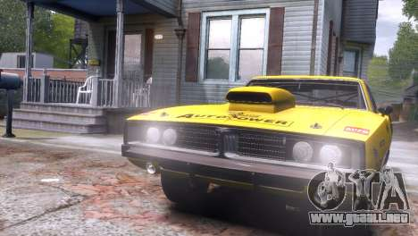 Dodge Charger RT 1969 EPM para GTA 4