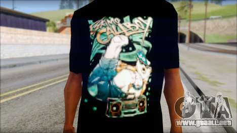 Eskimo Callboy Fan T-Shirt para GTA San Andreas tercera pantalla