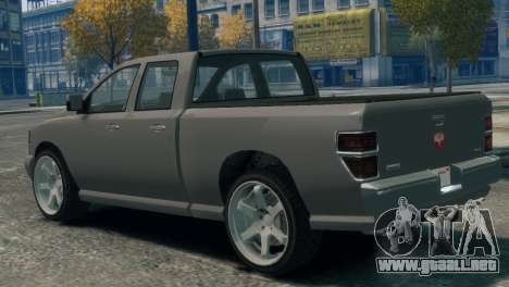 GTA V Bravado Bison para GTA 4 left