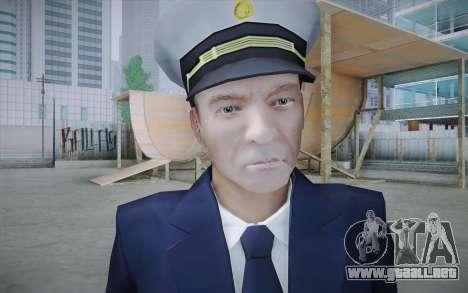 Commercial Airline Pilot from GTA IV para GTA San Andreas tercera pantalla