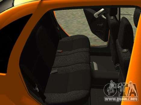 Lada Granta para vista inferior GTA San Andreas