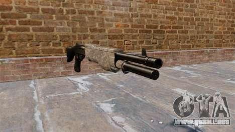La escopeta Franchi SPAS-12 ACU Camouflage para GTA 4