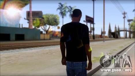 Linkin Park T-Shirt para GTA San Andreas segunda pantalla