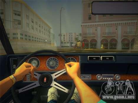 Oldsmobile 442 1970 para GTA Vice City visión correcta