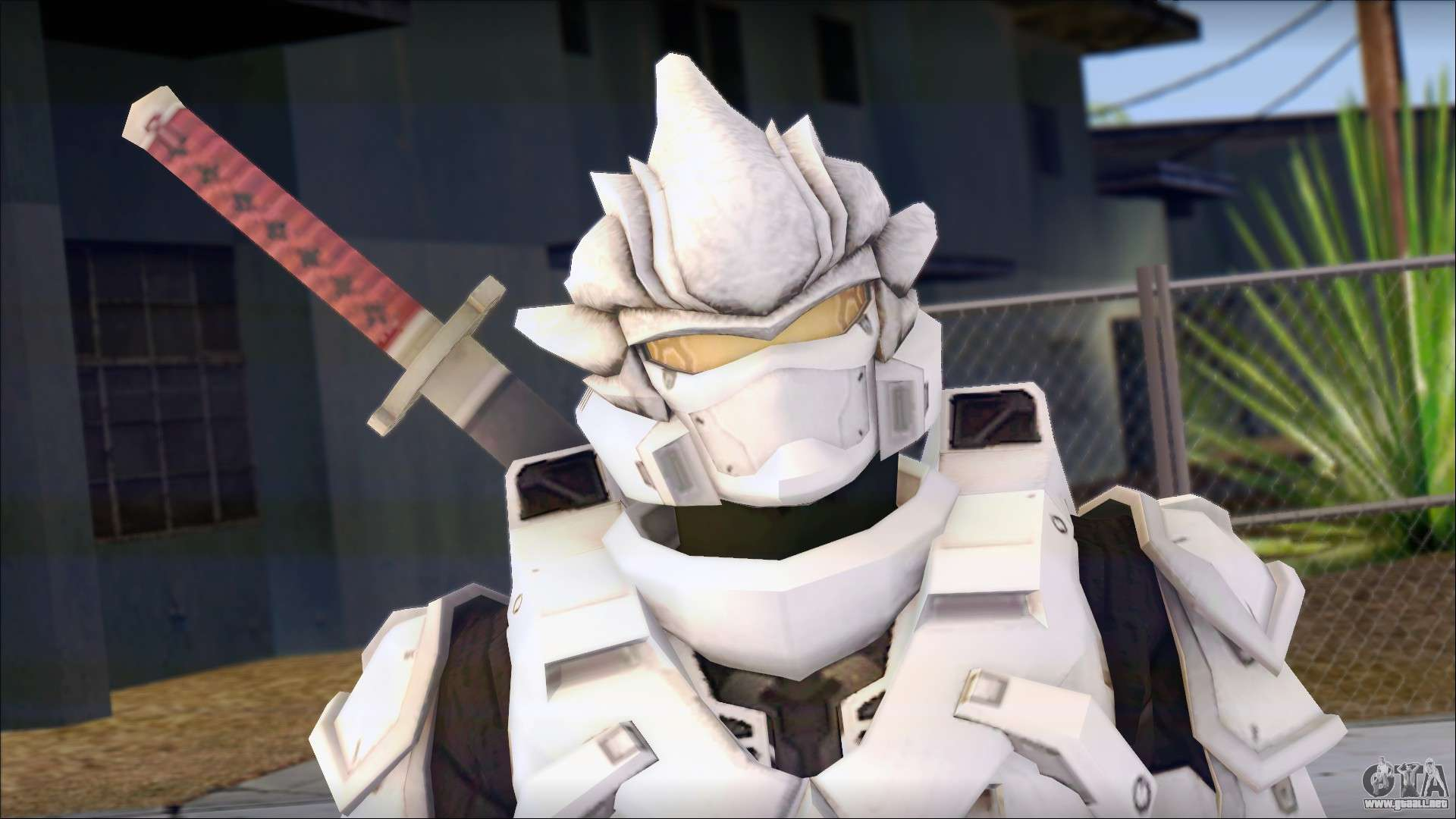 Halo: Female Elite (nude) for GTA San Andreas