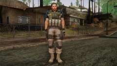 Chris Redfield from Resident Evil 6 para GTA San Andreas