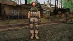 Chris Redfield from Resident Evil 6