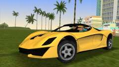 Turismo R from GTA 5 para GTA Vice City