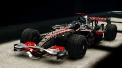 McLaren MP4-23 F1 Driving Style Anim para GTA 4