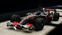 McLaren MP4-23 F1 Driving Style Anim