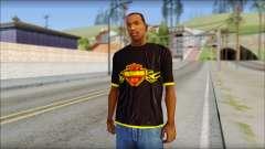 Harley Davidson T-Shirt para GTA San Andreas