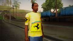 Ferrari T-Shirt para GTA San Andreas