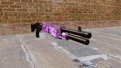 Ружье Franchi SPAS-12 Púrpura Camo para GTA 4
