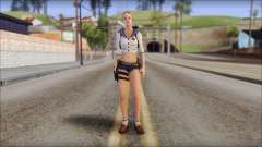 Sherry Birkin Mercenaries from Resident Evil 6 para GTA San Andreas