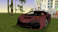 Zentorno from GTA 5 v2 para GTA Vice City
