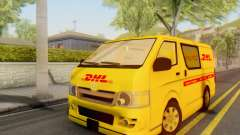 Toyota Hiace DHL Cargo Van 2006 para GTA San Andreas