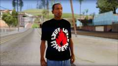 Stiff Little Fingers T-Shirt para GTA San Andreas