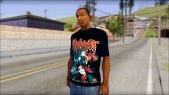 SlipKnoT T-Shirt v4 para GTA San Andreas
