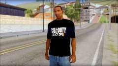 COD Black Ops 2 Fan T-Shirt para GTA San Andreas