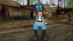 Lucario from Pokemon para GTA San Andreas