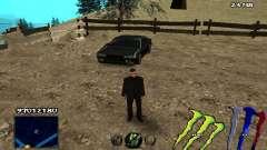 C-HUD Monster Energy para GTA San Andreas