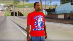 John Cena Red Attire T-Shirt para GTA San Andreas