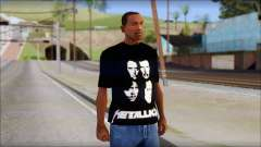Metallica T-Shirt para GTA San Andreas