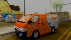 Toyota Hiace TNT Cargo Van 2006 para GTA San Andreas