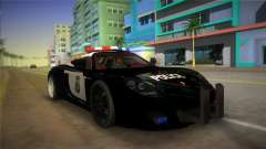 Porsche Carrera GT Police para GTA Vice City