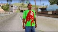 Bob Marley Jamaica T-Shirt para GTA San Andreas