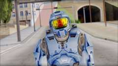 Masterchief Blue from Halo para GTA San Andreas
