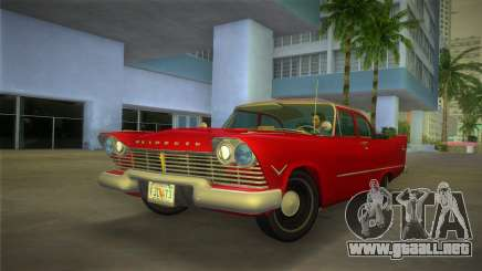 Plymouth Savoy Club Sedan 1957 para GTA Vice City