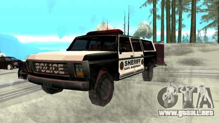 New Police Ranger para GTA San Andreas