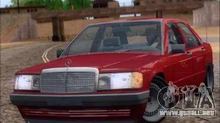 Mercedes Benz 190E Drift V8 para GTA San Andreas