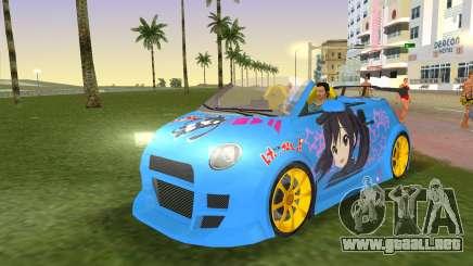 Fiat 500 ZTuning para GTA Vice City
