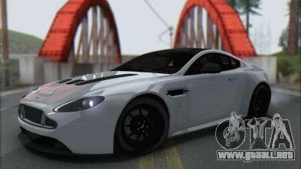 Aston Martin V12 Vantage S 2013 para GTA San Andreas